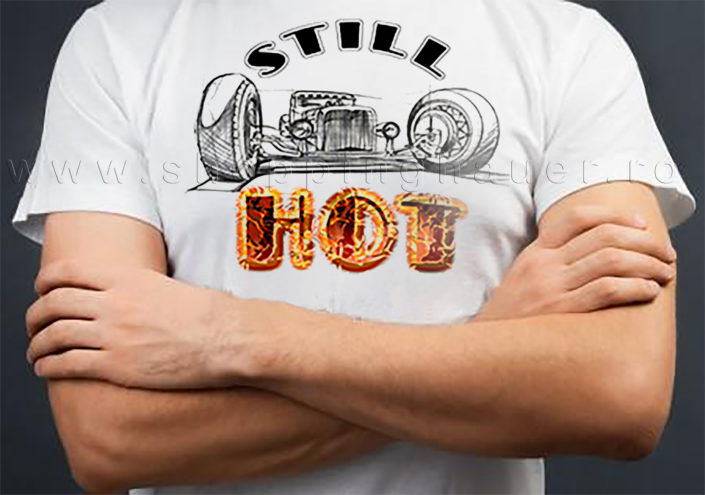 Tricou still hot rod